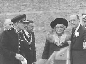 Diesviering Koninklijke Militaire Academie 28 november 1978 M.H. von Meijenfeldt, Koningin Juliana, Prins Bernhard
