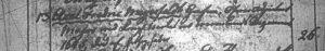 Axel Fredric Meyerfeldt, Grafen, Öfwer-Adjutant Major vid Kungl. Nerke och Vermlandt Regement 1645, död af hitsig feber