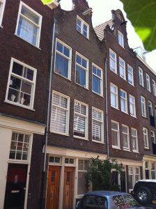Boomstraat 5 te Amsterdam, het huis waar Catharina Margaretha Pieploo (1784-1858) met haar ouders woonde ten tijde van haar huwelijk met Johan August von Meijenfeldt (1760-1835).